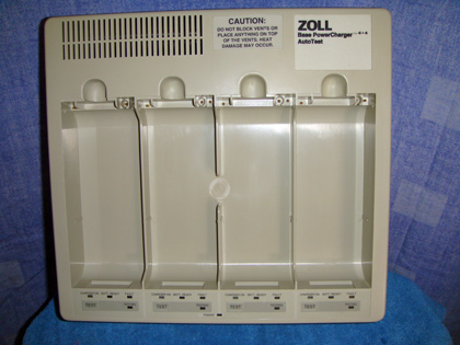 Zoll 4x4 Battery Charger
